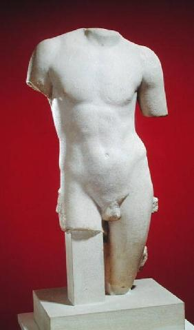 Torso of a young man, from Glanum
