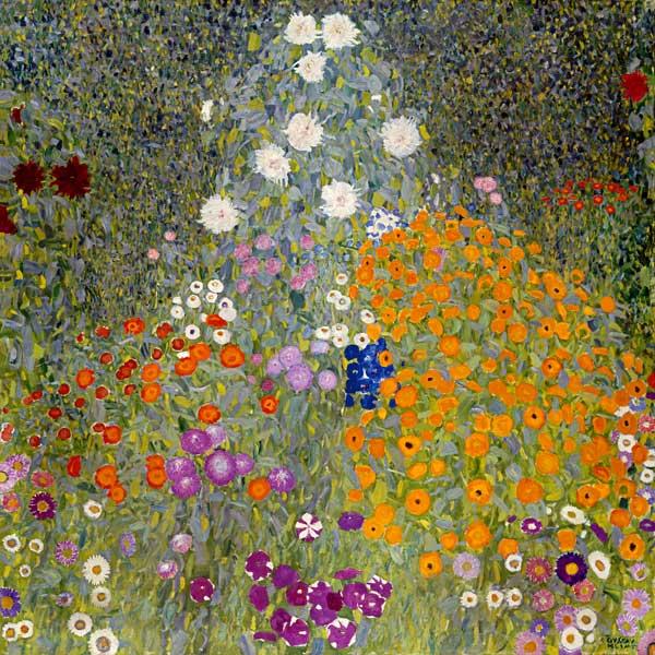 Giardino di fiori quadro di gustav klimt for Immagini di fiori dipinti