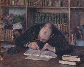 Portrait of the Bookseller E. J. Fontaine