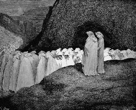 Inferno. Illustration to the Divine Comedy by Dante Alighieri