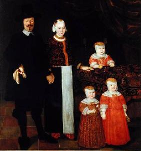 Portrait of a Hamburg Family