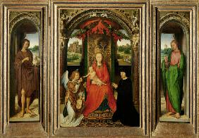 Small Triptych of St. John the Baptist