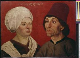Portrait of a married couple.