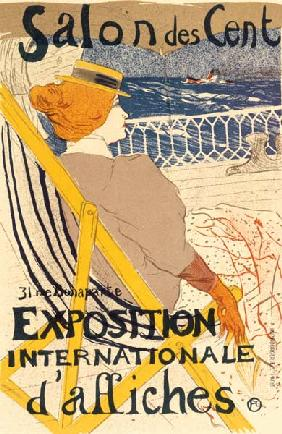 Poster advertising the ''Exposition Internationale d''Affiches'', Paris, c.1896