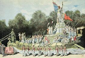 Chariot of the Triumph of the Republic at the National Festival, 22nd September 1892, from ''Le Peti