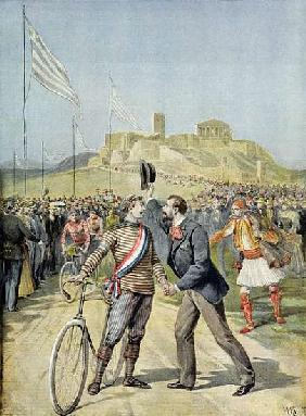 The Olympic Games in Athens, from ''Le Petit Journal'', 26th April 1896