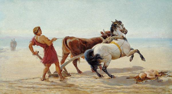 Ulysses Ploughing the Sea Shore