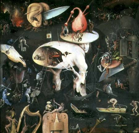 The Garden Of Earthly Delights Hell Ri Hieronymus Bosch