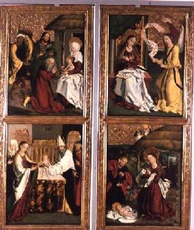 The Annunciation, the Birth of Christ, the Adoration of the Magi and the Presentation in the Temple