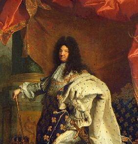 Louis XIV in Royal Costume, 1701 (detail of 59867)
