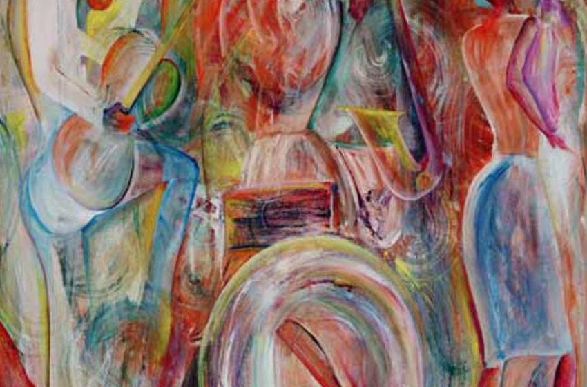 Abstrahierte Kunst