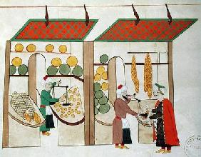 Ms.1671 Two Fruit Shops