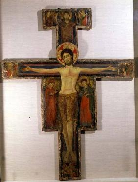 The Crucified Christ with the Virgin and St. John