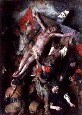 The Crucifixion (a Sicilian Risorgimento painting)