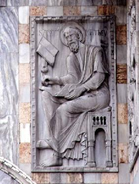 St. Matthew, relief from the north side of the basilica
