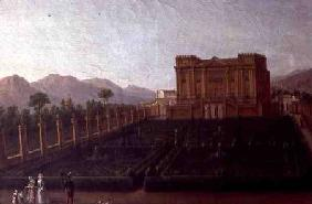 Painting of the Villa