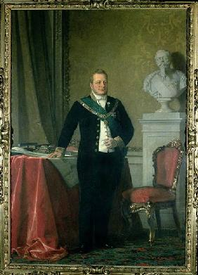 Portrait of Count Camillo Berso of Cavour (1810-61)