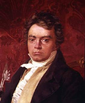 Portrait of Ludwig Van Beethoven (1770-1827)