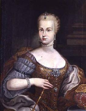 Portrait of the Wife of Pietro Leopoldo di Lorena