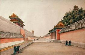 The Imperial Palace in Peking, from a collection of Chinese Sketches