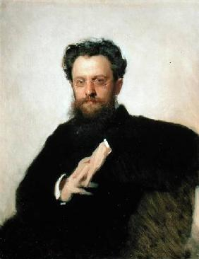 Portrait of Professor A. Prachov (1846-1916)