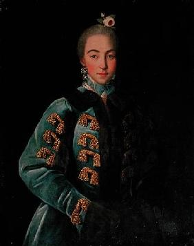 Portrait of Countess Anna Sheremetyeva