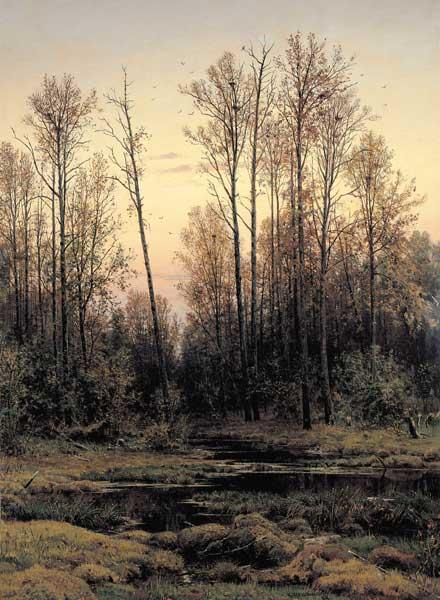 Shishkin / Forest in Spring / Painting