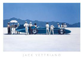 Bluebird at Bonneville