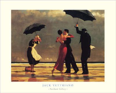 Jack Vettriano Riproduzioni e dipinti di COPIA-DI-ARTE.COM