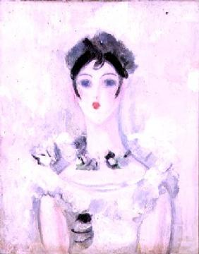Portrait of a Young Woman with a Lace Bodice