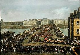 The Imperial Procession Returning to Notre Dame for the Sacred Ceremony of 2nd December 1804, Crossi