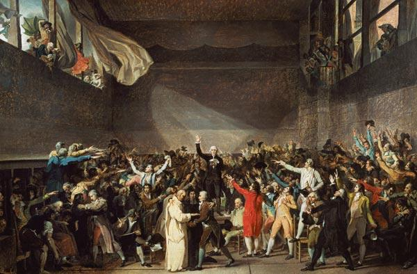 The Tennis Court Oath, 20th June 1789