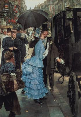 The Bridesmaid, c.1883-85 (oil on canvas)