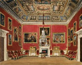 The Second Drawing Room, Buckingham House, from 'The History of the Royal Residences', engraved by T