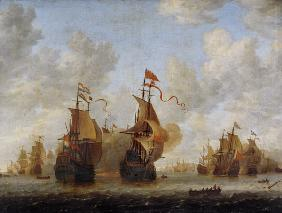 Naval battle.