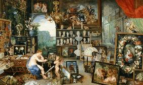 Allegory of the eyesight. Executed with Peter Paul Rubens.