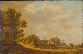 Landscape with Tavern