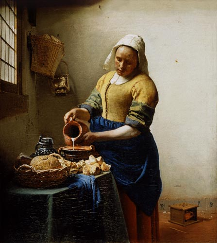 La lattaia di Jan Vermeer