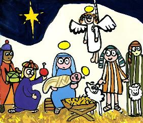 Childrens School Nativity Play