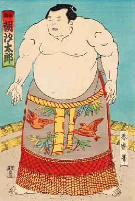 The Sumo Wrestler Asashio ...