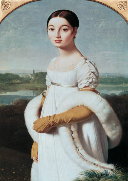Baño Turco Jean Auguste Dominique Ingres:Mademoiselle Caroline Riviere Ingres Jean Auguste Dominique