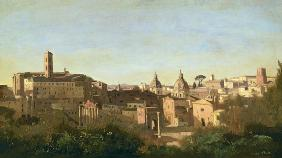 The Forum seen from the Farnese Gardens, Rome