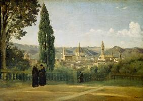 Florence, View at the Boboli Gardens 1835/40
