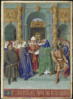 The Marriage of Mary and Joseph (Hours of Étienne Chevalier)
