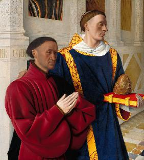Étienne Chevalier with Saint Stephen