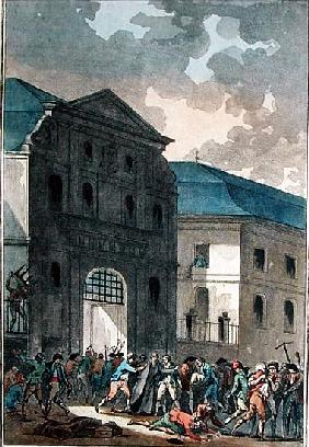 The Pillage of the Saint-Lazare Convent, 13th July 1789