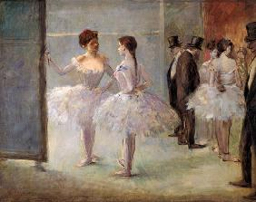 Dancers in the Wings at the Opera