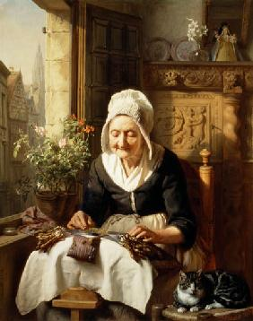 The Old Lacemaker