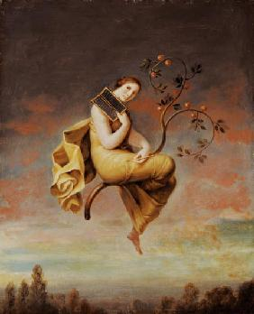 Goddess of the fruit-trees
