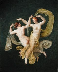 Unresolved nymphs in the dance.